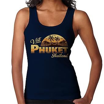 Visit Phuket Retro Beach Women's Vest