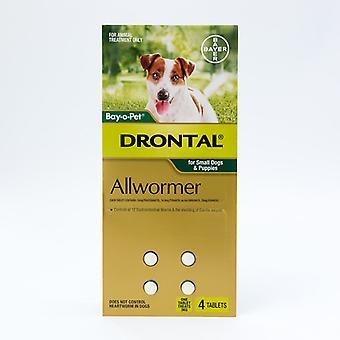 Drontal Allwormer 3kg - 50 Tabs