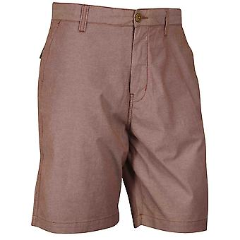 Quiksilver Mens Everyday Oxford Shorts - Mohagany Red