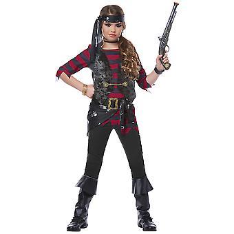 Afvallige Pirate Buccaneer Caribische Snoever boek Week meisjes kostuum
