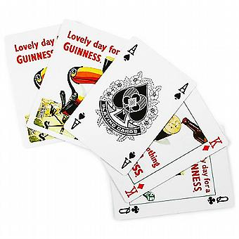 Guinness Gilroy designs set of 52 playing cards    -sg-