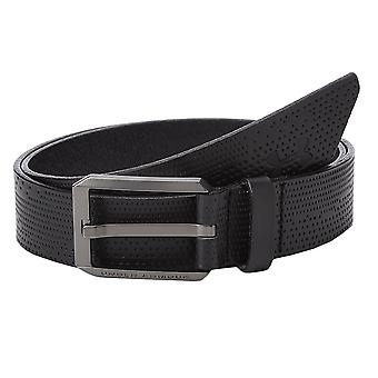 Under Armour Mens 2019 Laser Perforated Leather Belt