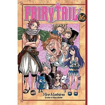 Fairy Tail 16 by Hiro Mashima - 9781935429357 Book