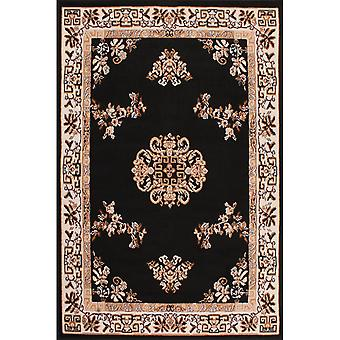 Medallion Rugs In Black By Rugstyle