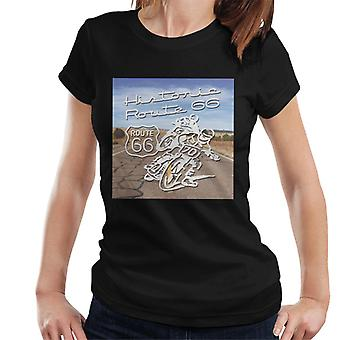 Route 66 Historic Motorcycles Women's T-Shirt
