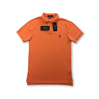 Ralph Lauren Polo slim fit polo in May orange
