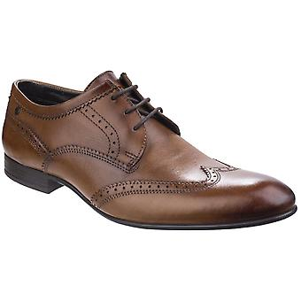 Base London Mens Purcell Washed Leather