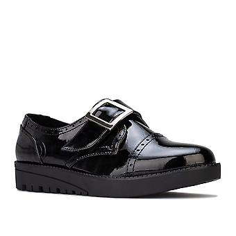 Children Girls Ben Sherman Carly Patent Shoe in Black