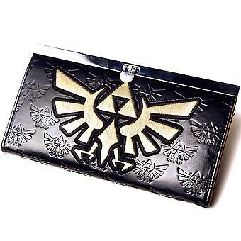 Trifuerza dorada de Zelda Nintendo monedero mujer oficial nuevo Logo
