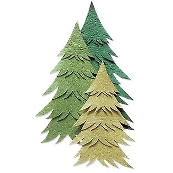 Jolee's By You Dimensional Embellishment Pine Tree Green Jj B 56231