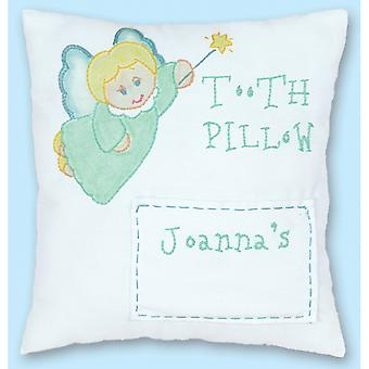 Stamped Tooth Fairy Pillow Cover 8