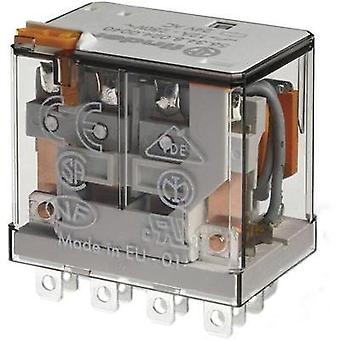 Plug-in relay 110 Vdc 12 A 4 change-overs Finder 5