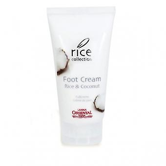Lanna Oriental Spa rice collection foot cream rice & coconut 80 ml