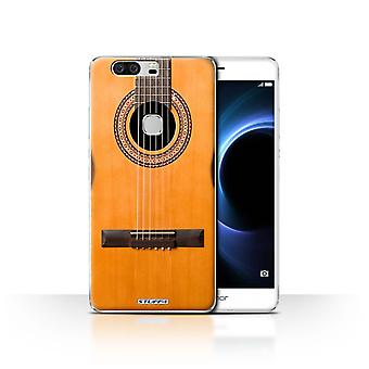 STUFF4 Case/Cover for Huawei Honor V8/Wood/Wooden Acoustic/Guitar