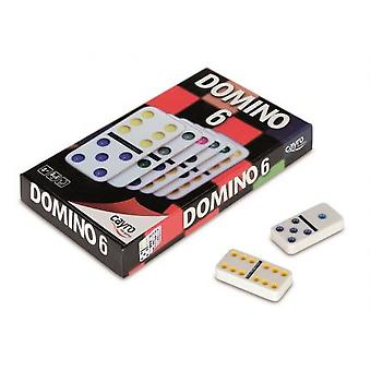 Cayro Domino Double 6 Urea (Speelgoed , Bordspellen , Strategie)
