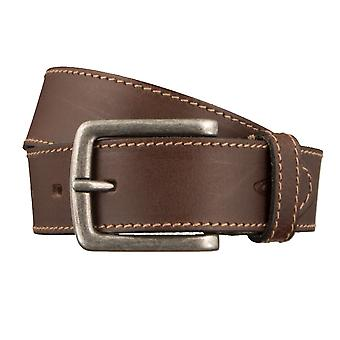 Camel active belts men's belts leather belt dark brown 2827