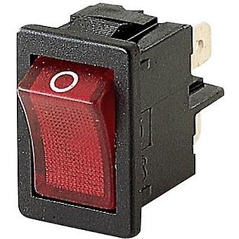 Toggle switch 250 Vac 4 A 2 x Off/On Marquardt 1855.1102 IP40 latch 1 pc(s)