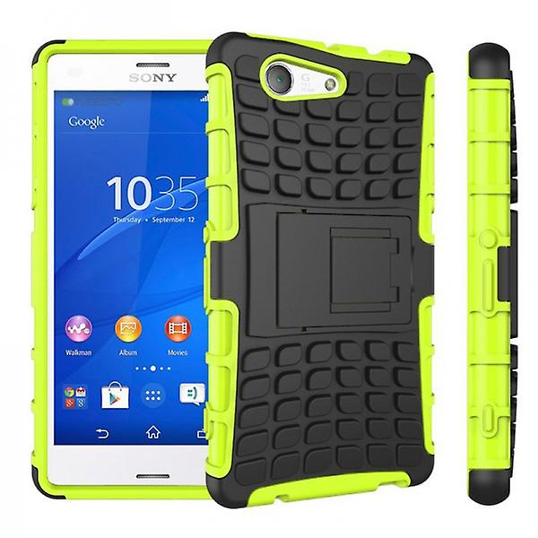Hybrid Case 2teilig Robot Green for Sony Xperia Z3 Compact D5803 M55W
