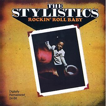 Stylistics - Rockin' Roll Baby [CD] USA import
