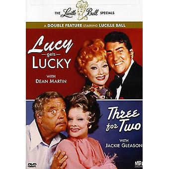 Lucille Ball Specials - Lucille Ball tilbud: Lucy får Lucky/Three for to [DVD] USA import
