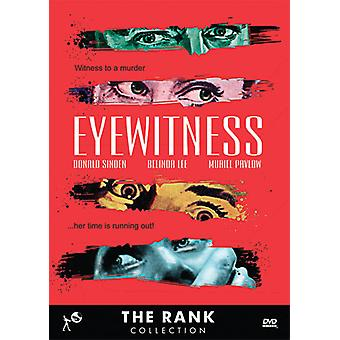 Eyewitness [DVD] USA import