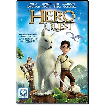 Hero's Quest [DVD] USA import