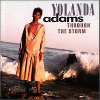Yolanda Adams - gennem the Storm [CD] USA import