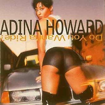 Adina Howard - Do You wanna Ride [CD] USA import