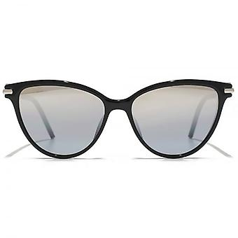 Marc Jacobs Cateye Sunglasses In Shiny Black