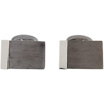 Peter Werth Jep Cufflinks - Silver/Grey