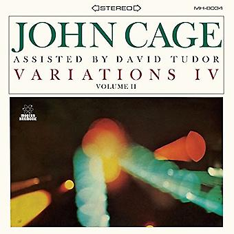 Cage, John / Tudor, David - Variationen IV: Vol 2 [Vinyl] USA importieren