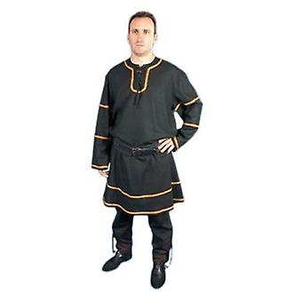 Medieval Factory Traje Medieval Anfos color negro (Costumes)