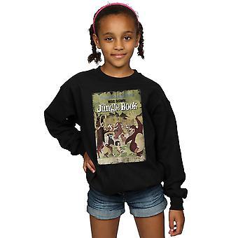 Disney Girls The Jungle Book Retro Poster Sweatshirt