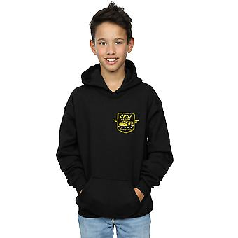 Disney Boys Cars Cruz Ramirez Faux Pocket Logo Hoodie