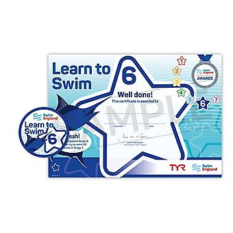 ASA Swim England Learn to Swim Award Stage 6