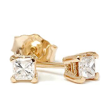 1 / 4ct diamant dubbar 14K gult guld