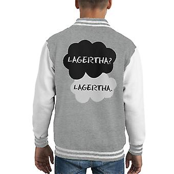 Vikings Lagertha Fault In Our Stars Mix Kid's Varsity Jacket