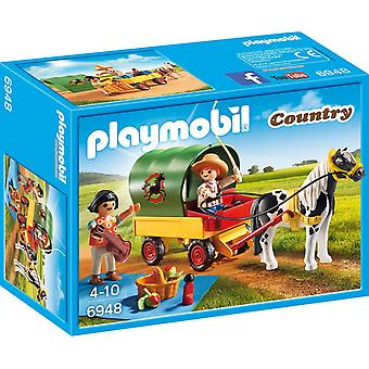 Playmobil Country Picnic con Pony Wagon 6948