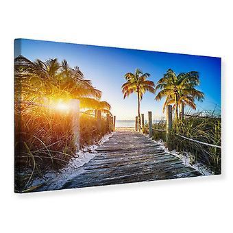 Canvas Print Beach Away