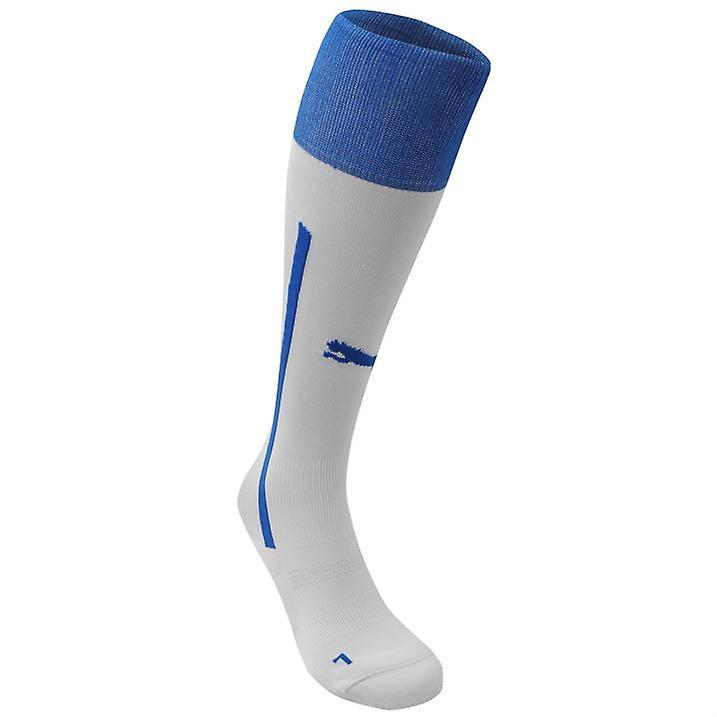 2014-15 Italia Puma lejos fútbol calcetines (blanco)