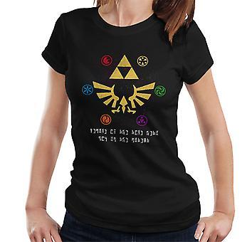Werde ein Held von Zeit Legend Of Zelda Damen T-Shirt