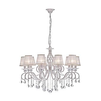 Maytoni Lighting Grace Elegant Collection Chandelier, Cream Gold