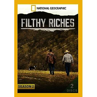 Filthy Riches: Season 2 [DVD] USA import
