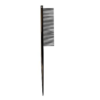Groom Professional Black Titanium Coated Tail Comb