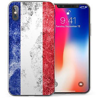 iPhone X Holland Retro Faded Flag TPU Gel Case