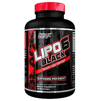 Nutrex Lipo-6 Black 120 Black Capsules (Sport , Weight loss , Thermogenics)