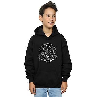 Harry Potter Boys Gryffindor Seal Hoodie