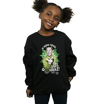 DC Comics Girls Batman TV Series The Riddler Time for a Riddle Sweatshirt