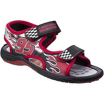 Leomil Boys & Girls Lightning McQueen Adjustable Lightweight Sandals