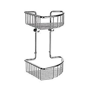 Sideline Soap Basket Corner 2 Level DK1022